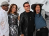 American Idol judges with Bono